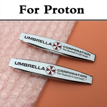 Umbrella Corporation Resident Evil Car Badge Emblem Sticker for Proton Gen-2 Inspira Perdana Persona Preve Saga Satria Waja