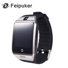 2017 Bluetooth Smart Watch Q18 Support Sim TF Card NFC Connection Camera Android IOS Relojes Whatsapp Facebook Smartwatch dz09