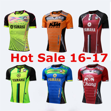 SEA PLANETSP 2017 Summer Men Short Sleeve Soccer uniforms T Shirt Quick Dry Fitness Slim Fit T-shirt Sports Tops & Soccer Jersey