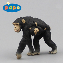 The new PAPO 2016 deals with the simulation of the animal toy gorilla mother child model (bulk)(China)