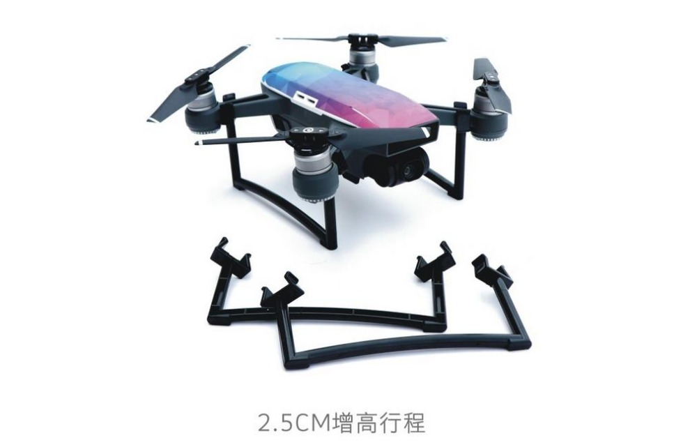 Foldable Quick-release Intelligent Aircraft UAV Landing Gear Tripod Accessories for Spark Drone Quadcopter