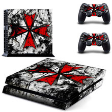 Buy Resident evil Skin Vinyl Skins Sticker Sony PS4 PlayStation 4 2 Controllers Skins Cover GCTM0094 for $6.03 in AliExpress store