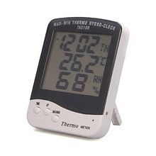 Digital LCD screen thermometer hygrometer outdoor multimeter