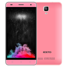 Smartphone ECETD ET600 chinese cell phone light weight  4G LTE 500W camera 2600mAh large battery with external space