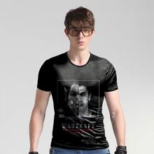 Summer Men's New Style Short Sleeve Slim O-Neck Print World of Warcraft T shirt Man's Favorite T shirt High Quality Male Luxury(China)