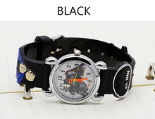 ot03 Hot sale fashion Batman Children's cartoon watches purses Students Kids purse silicone quartz watch cute boy wristwatches(China)