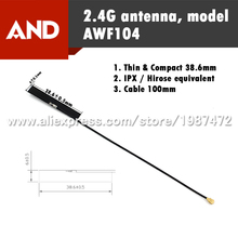 Free Shipping 2.4G WIFI Antenna, Omni PCB Antenna,internal Antenna IPX connector