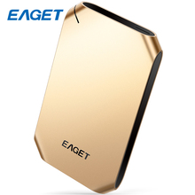 EAGET High Speed External Hard Drive USB 3.0 500GB HDD 2.5 Encrypted Shockproof Portable USB Hard Disk 1TB Storage Devices G60(China)