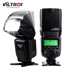 DE/ES STOCK Viltrox JY680A On-camera Flash GN33 Speedlite Flash Light with LCD Screen for Canon Nikon Sony Pentax DSLR Camera(China)