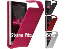 Pu Leather Case For Sony xperia Sola mt27i MOQ 1pcs For mt27i Pouch Cover Hand Case