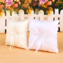 Crystal Wedding Ring Pillow Cushion Pincushion Rings Party Decoration Wedding Decoration Supplie