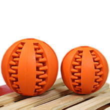 Creative Pet Dog Natural Rubber Dental Rugby Ball Toy  For Dog Health Care odorless  dog toys