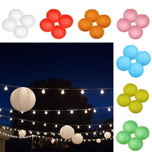 4pcs Wholesale 12inch Colorful Round Paper Lantern Lamps Wedding Christmas Celebration Decoration Chinese Paper Lanterns