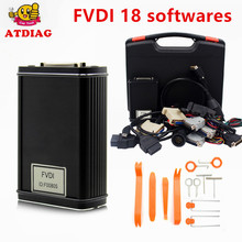 Newest FVDI Full Version (Including 18 Software) FVDI ABRITES ABRITES Commander Without Limited FVDI Diagnostic Scanner DHL Free(China)