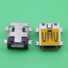 YuXi 10pin Mobile Phone Tablet PC Mini USB Connector communly used 10P 10-pin MINI USB Jack MINI USB Connector 1X