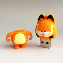 New Cartoon personalized Cat usb 2.0 memory flash stick pen drive for gift