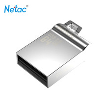 Netac Original U289 USB 2.0 Flash Drive 32GB Pen Drive Mini Memory Stick Full Metal Material Pendrive U Disk Thumb Drives