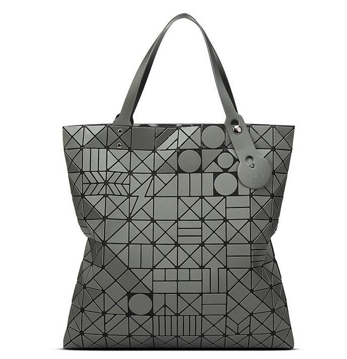 2017 New Womens Diamond Lattice Bag Tote Geometry Shoulder Bag baobao bag Designers Brand Bag  hologram bolsa 10*10<br><br>Aliexpress