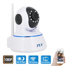 PLV 2018 Best Baby Monitor IP Camera WIFI 1080P Full HD 2.0MP Robot Camera CCTV Video Surveillance Home Security(China)