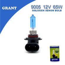GRANT 2PCS HB3 9005 12V 65W Car Halogen Xenon Bulbs6000K Bright White Automobiles Replacement Lamps Foglights Free Shipping