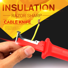1pc Stripping Cutter Cable Electrical Insulation Stripping Knife Wire Stripper Electrician Hand Tools