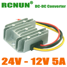 DC 24V TO DC 12V 5A 60W CAR POWER CONVERTER, STEP-DOWN DC-DC CONVERTERS, 5AMP BUCK MODULE