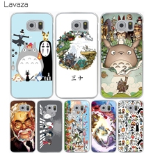 Lavaza Studio Ghibli Spirited Away Totoro Hard Case for Samsung Galaxy S7 Edge S6 S8 Edge Plus S5 S4 S3 & Mini S2(China)