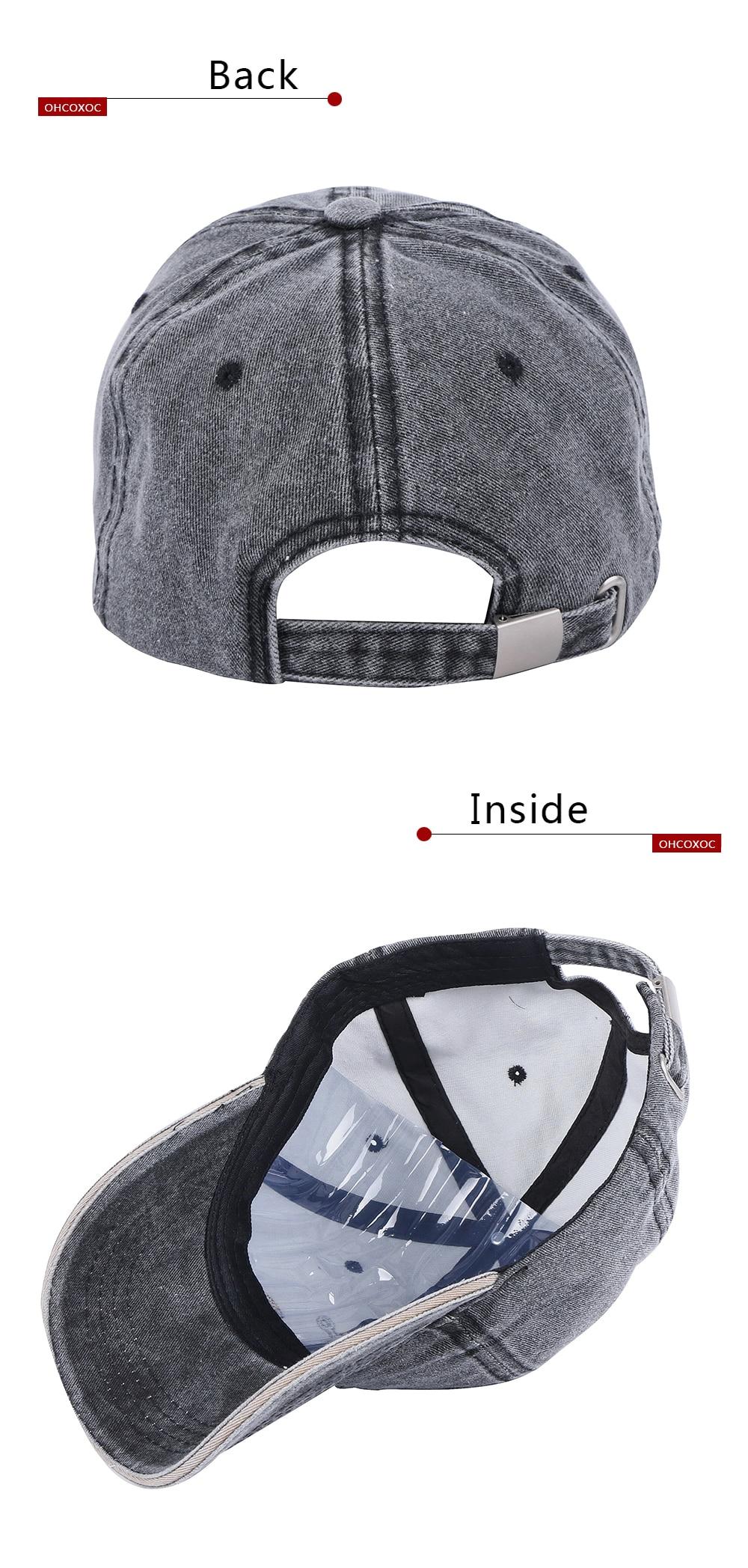 Women Men Vintage Hat Casual Sports Caps Cotton Wrinkle Style Simple D Island 4 Multiple Display 3 5