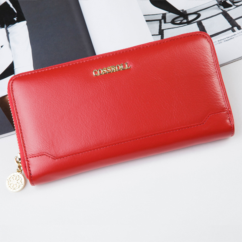 Brand Wallet Womens Red Purse Simple Elegant Clutch Hot Selling Card Holder Coin Money Pocket Female Evening Handbags<br><br>Aliexpress