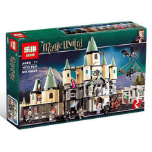 New Lepin Movie Series The magic hogwort castle set Children Educational Building Blocks Bricks Toys Model funny Gift 5378