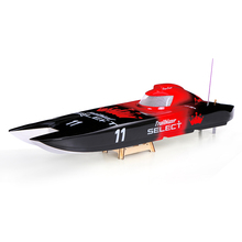 DE Stock Trailblazer 1300BP FS-GT2 2.4G Transmitter 60km/h High Speed Electric Catamaran RC Boat Remote Control Speedboat(China)
