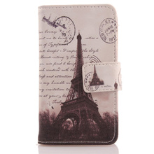 AIYINGE Book Design PU Leather Mobile Phone Case Wallet Cover For Medion Life MD 99687 E5520 5.5''