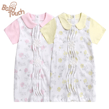Babytouch Baby Princess Girls  100%Cotton Clothing Clothes For Girl Free shipping(China (Mainland))