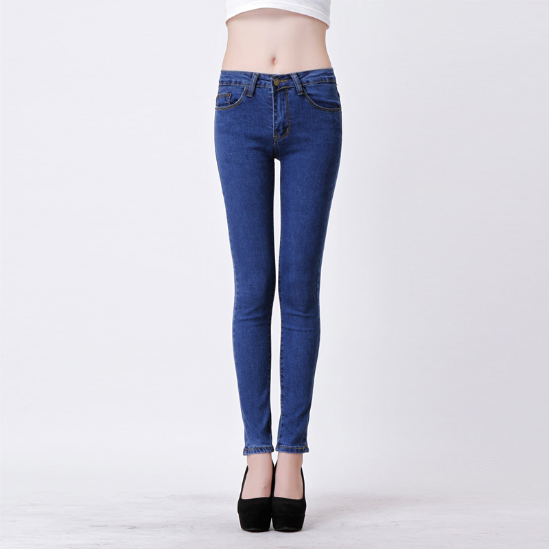 Jeans Woman Skinny Pencil Fashion Denim Elastic Washing Good Quality Casual PantsОдежда и ак�е��уары<br><br><br>Aliexpress