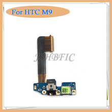 Original Cellphone Parts Micro Dock Connector USB Charging Port Flex Cable For HTC One M9, Free Shipping