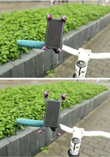 Adjustable Mobile Phone Bike Bicycle Handlebar Mount Stands Holders For Sony Xperia X/XA/X Performance,Asus Zenfone Pegasus 3