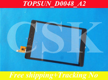 A+ (Ref:TOPSUN_G7034_A1 ) 7 inch  Tablet Digitizer Glass Sensor Replacement for CHUWI V88 Quad Core RK3188Tablet Touchscreen
