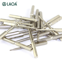 10 pcs LAOA 4mm Head S2 Alloy Steel Phillips Slotted Hex Screwdriver bit Repair for PC Cellphone Watch Pad Apple computer(China)