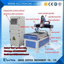 6090 atc cnc router with 4pcs tool changer / dust collector woodworking machine