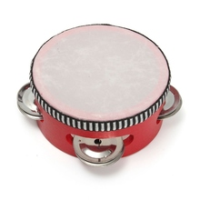 Funny Drum Bell Percussion Toy Musical Instrument Gift For Children Playing Learning Dancing Party Supplies(China)