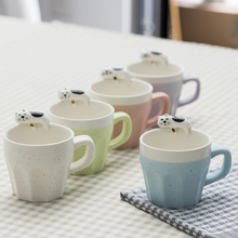 300ml mini Creative Cute Cartoon Ceramic Mugs Water Container Cups And Mugs Porcelain Tea Cup Coffee Mug Novetly Gifts