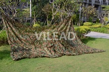 VILEAD 2M*3M Military Camping Camouflage Net Woodland Army Camo Netting Hunting Sun Shelter Tent Shade Net for Car Covering(China)
