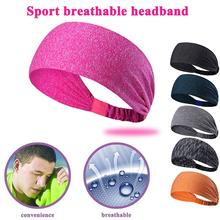 relefree Yoga Stretchy Sweatbands Headbands Tennis Sports Hair Band Athletic Breathable Fitness Antiperspirant bands Men / Women(China)