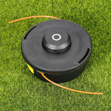 3PCS Grass Trimmer Head for Petrol Brush Cutter Grass Trimmer Lawn Mower Gasoline Engine Garden Tools Parts Black