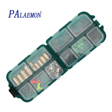 PALAEMON 83pcs/box Fishing Tackle Accessories Stainless Fishhooks Fishing Lead Ball Bearing Swivels Connector(China)