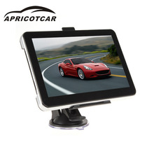 APRICOTCAR 7 Inch GPS Navigator Portable Bluetooth Car Navigation Device WIFI Function Support Voice Navigation FM Transmitter(China)
