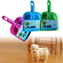 Portable Mini broom dustpan suit pet cleaning broom and dustpan Pet cleaning supplies FG(China)