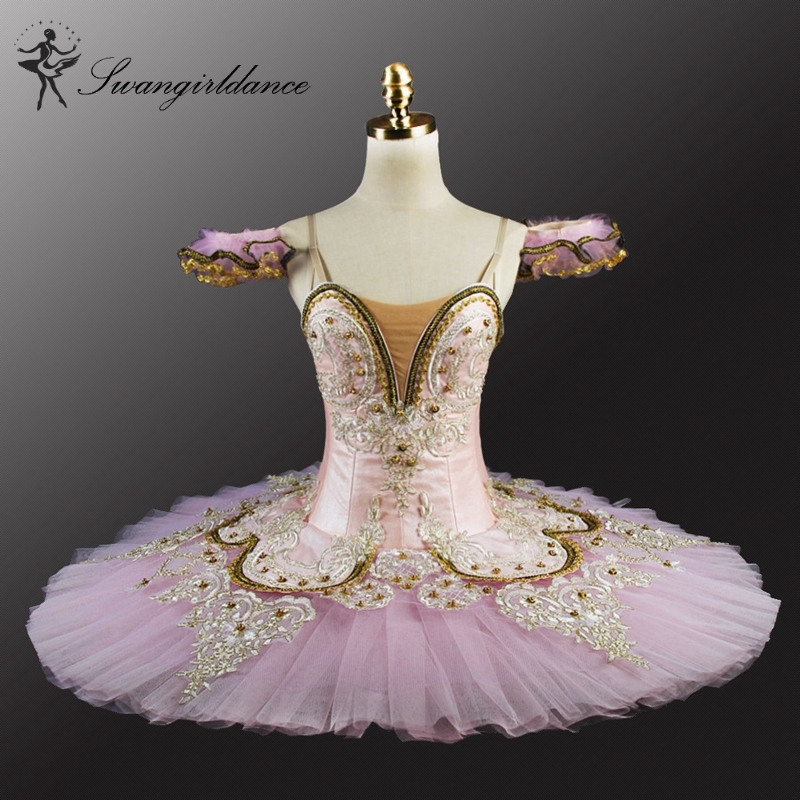 adult girl light pink Sleep Beauty ballet tutu classical professional ballet tutu for performance or competitionBT9044D