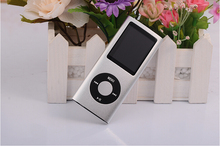 Wholesale  New 4th Gen mp3 mp4 player 32GB 16GB 1.8 inch screen with FM radio recording function 50pcs free DHL shipping