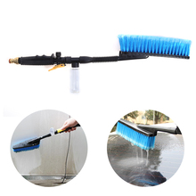 6cm Hair Copper Fittings Foam Cleaning Water Car Wash Brush Long Hair Car/Vehicle Cleaning Brush Hand Tool(China)